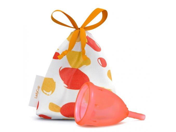 LadyCup S oranžový