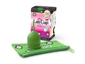 menstruacni kalisek lalicup S green